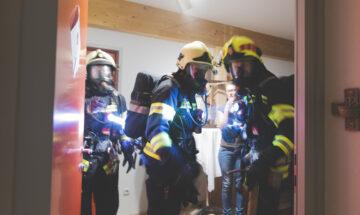 Rettungsaktion im KISI-Haus