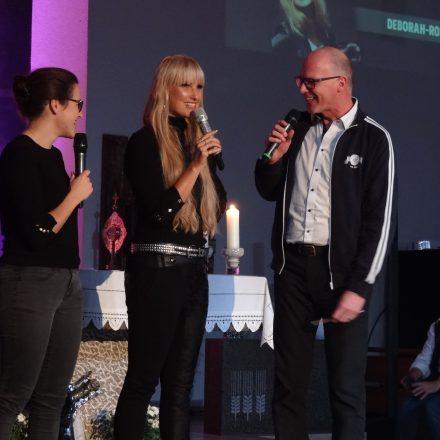 KISI Vorarlberg - God's singing kids - Holyween, Déborah Rosenkranz mit Christian Röthlin