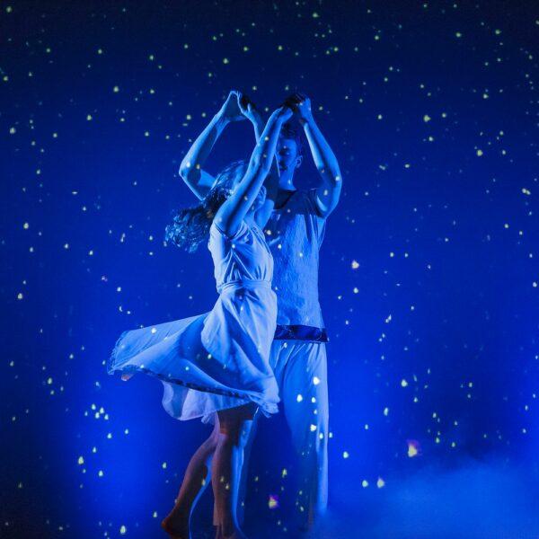Romantiek onder sterrenhemel